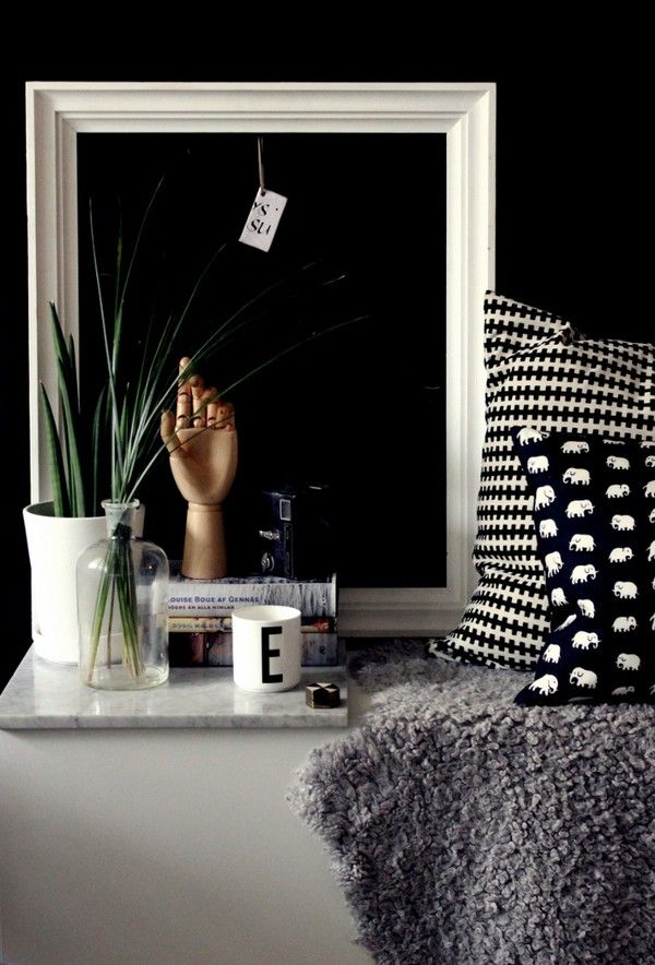 Arrange your items loosely for am effortlessly stylish lived in look. emmas.blogg.se