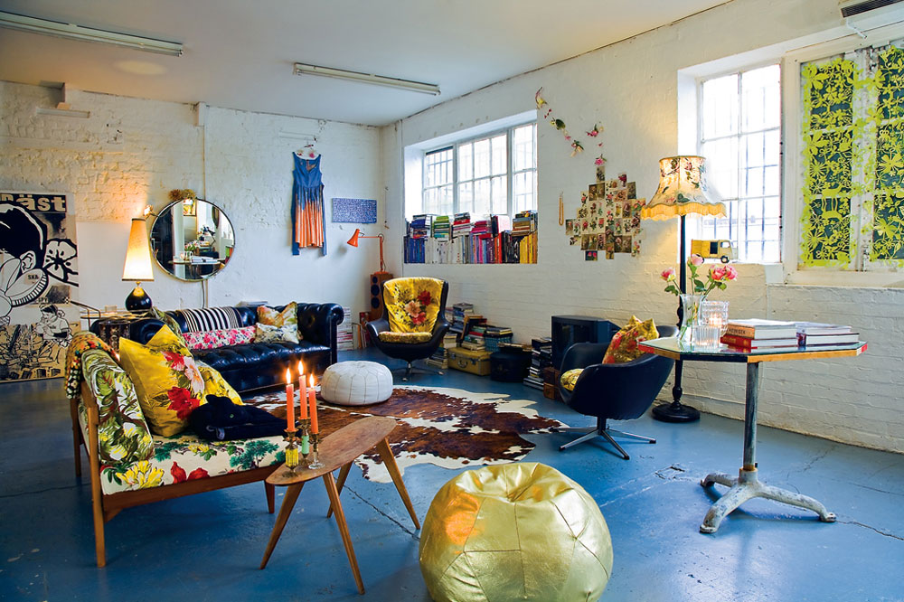 Stylist Emily Chalmers Mid Century Living Room