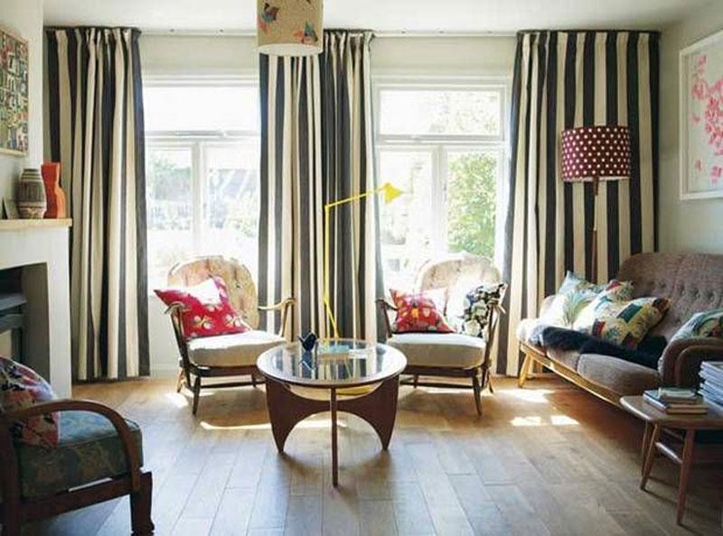petra boase mid century modern living room