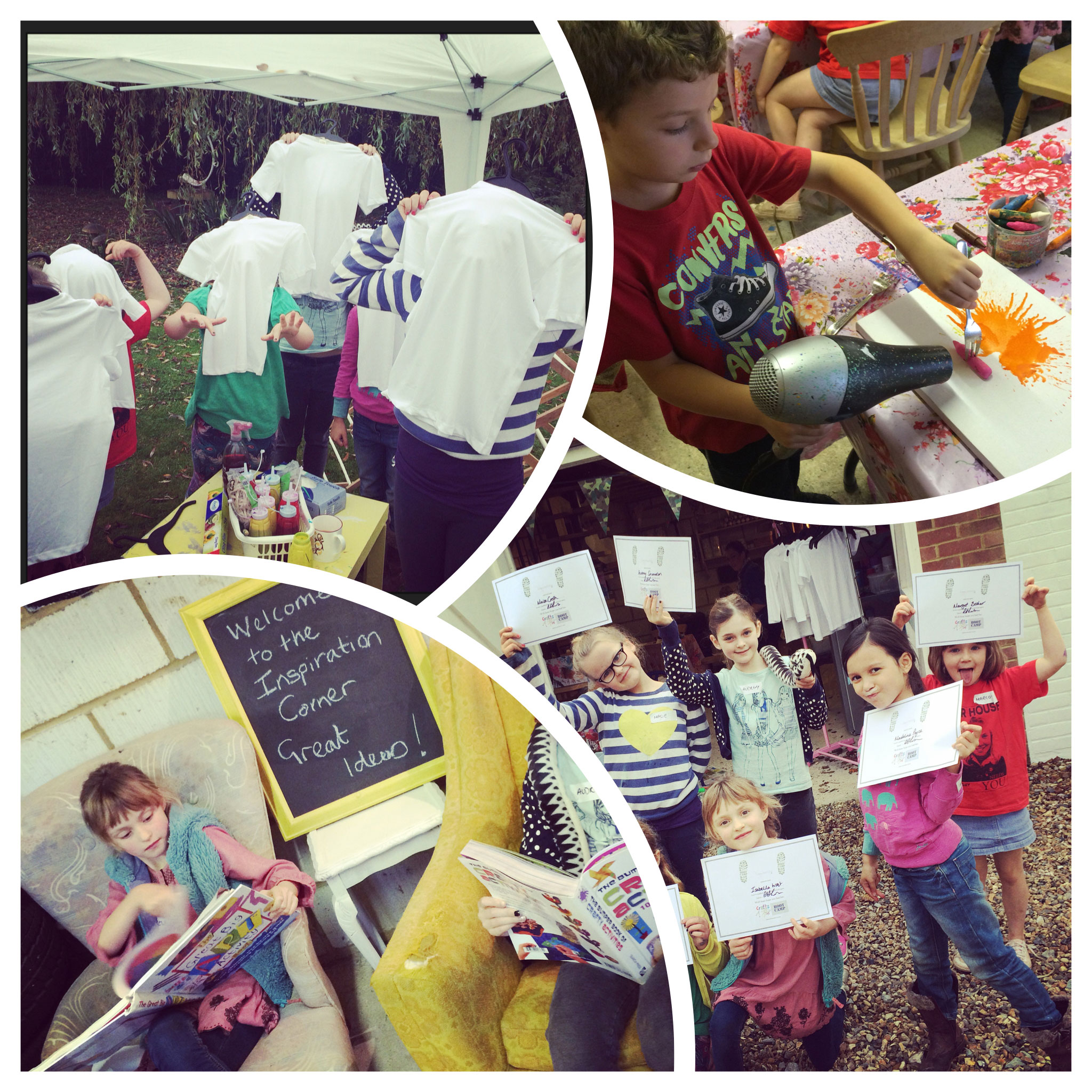 Lynnes up-cycling classes for kids