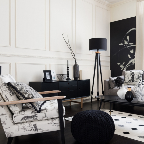Living room furniture and accessories all from Marks and Spencer