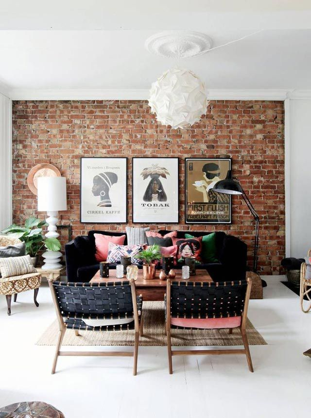 Styling with symmetry living room