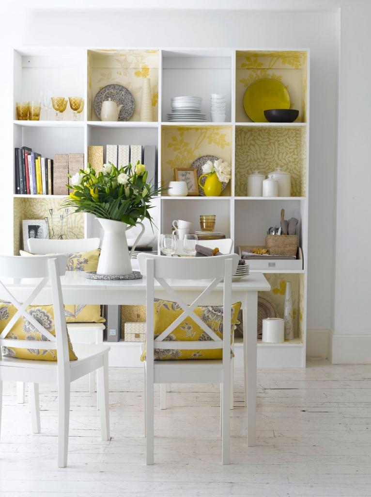 Ideal Home shelf display