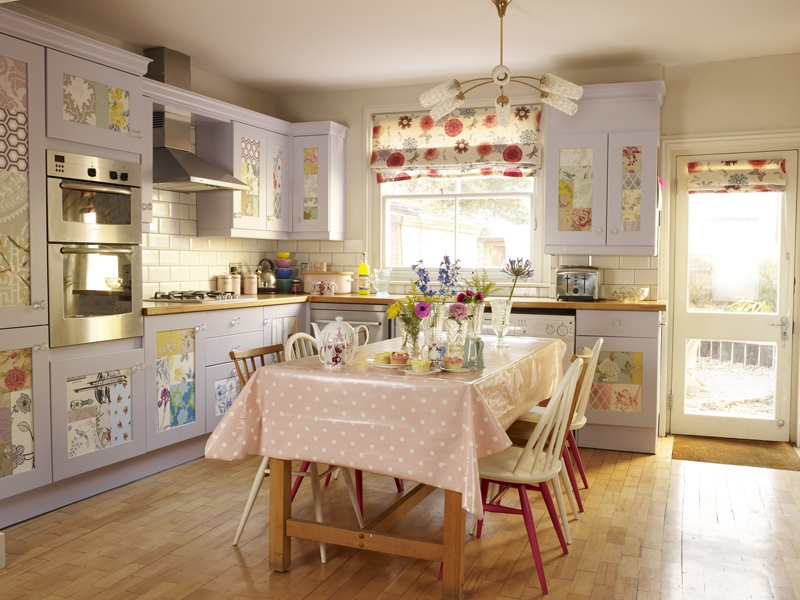 Vintage kitchen makeover