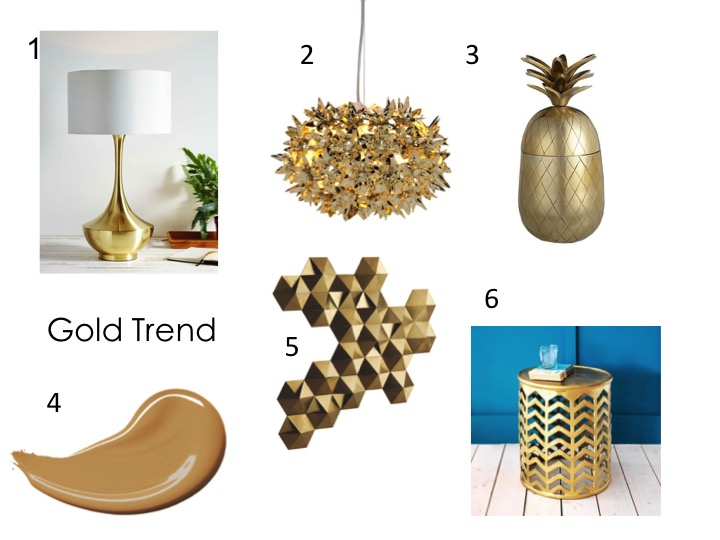 Gold trend shopping