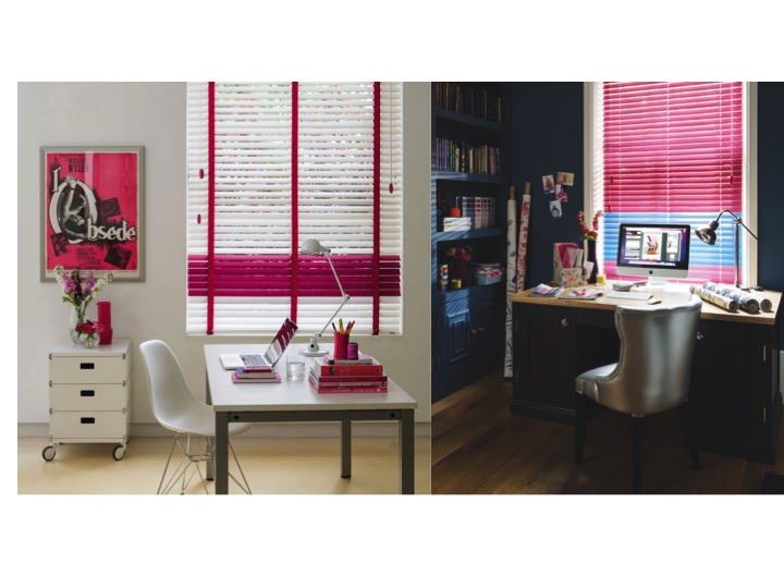 Different colour schemes work for either south or northfacing rooms. These two home offices have a completely different colour scheme. Source: Styled by Sophie Robinson. Image from Decora.