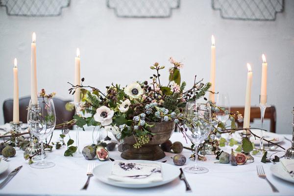 Christmas Table Decoration Ideas Uk.10 Super Stylish Decoration Ideas For Christmas Table