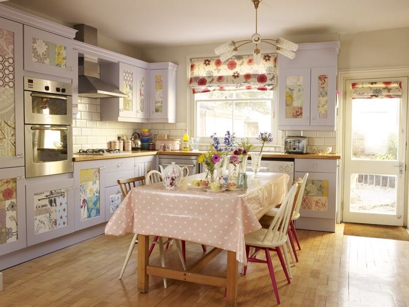 designed by Sophie Robinson The Sweet Shop upcycled Kitchen