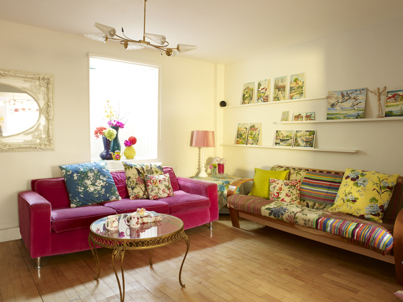 Sweet Shop living room by Sophie Robinson