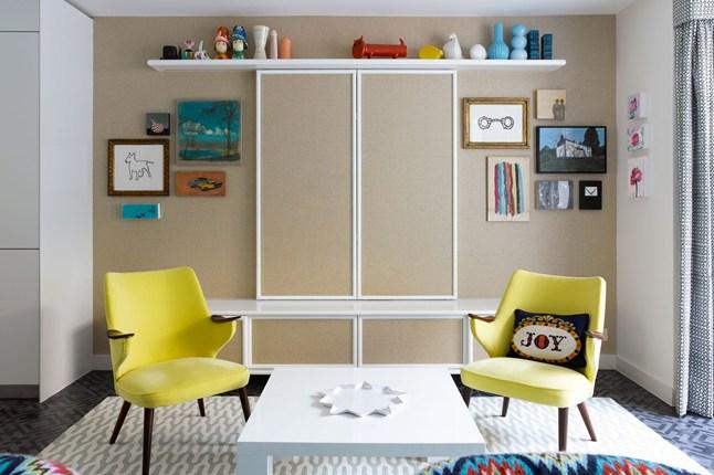 Concealed TV cabinet