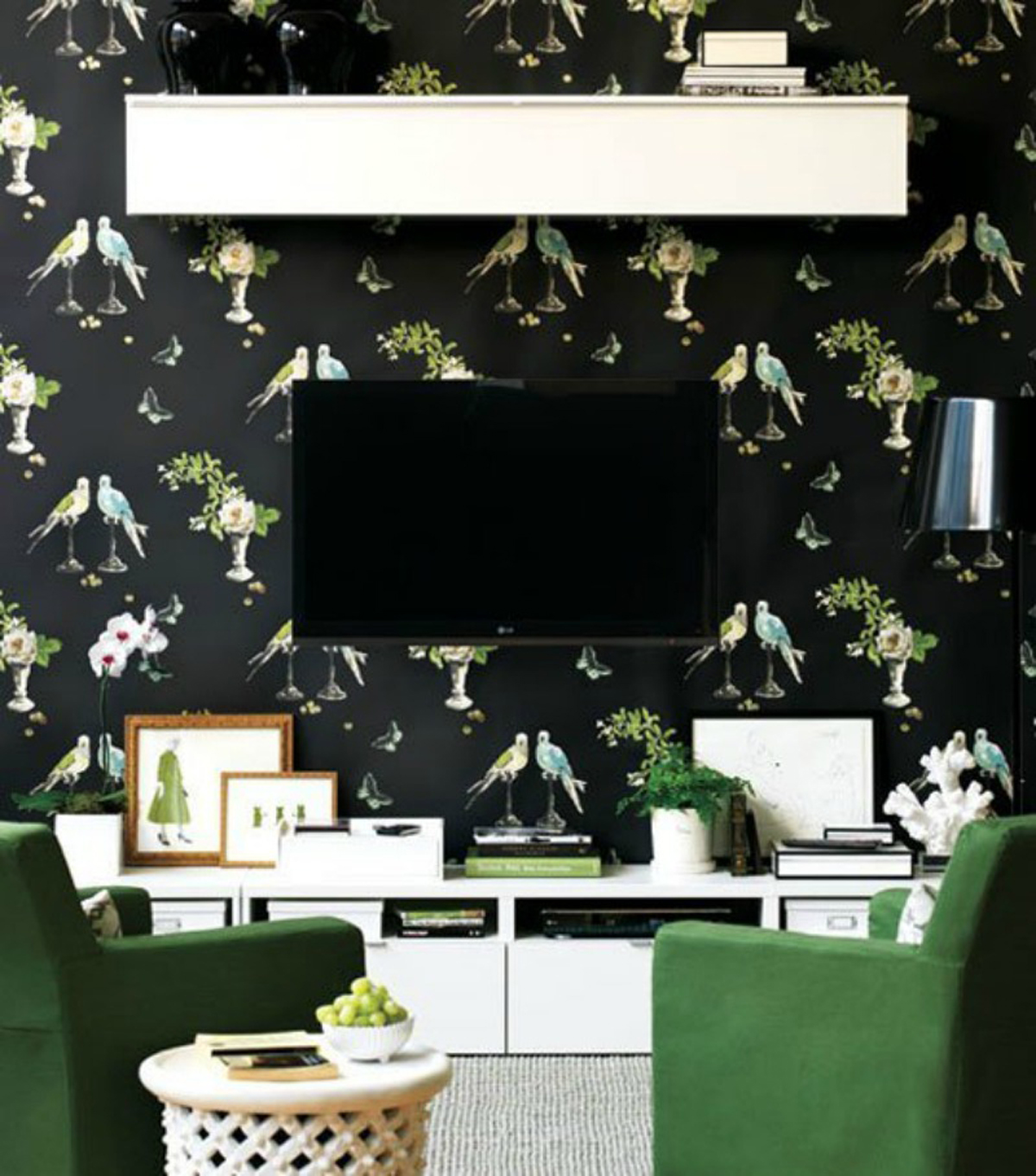 Living Room Design Dilemma: How To Disguise The TV