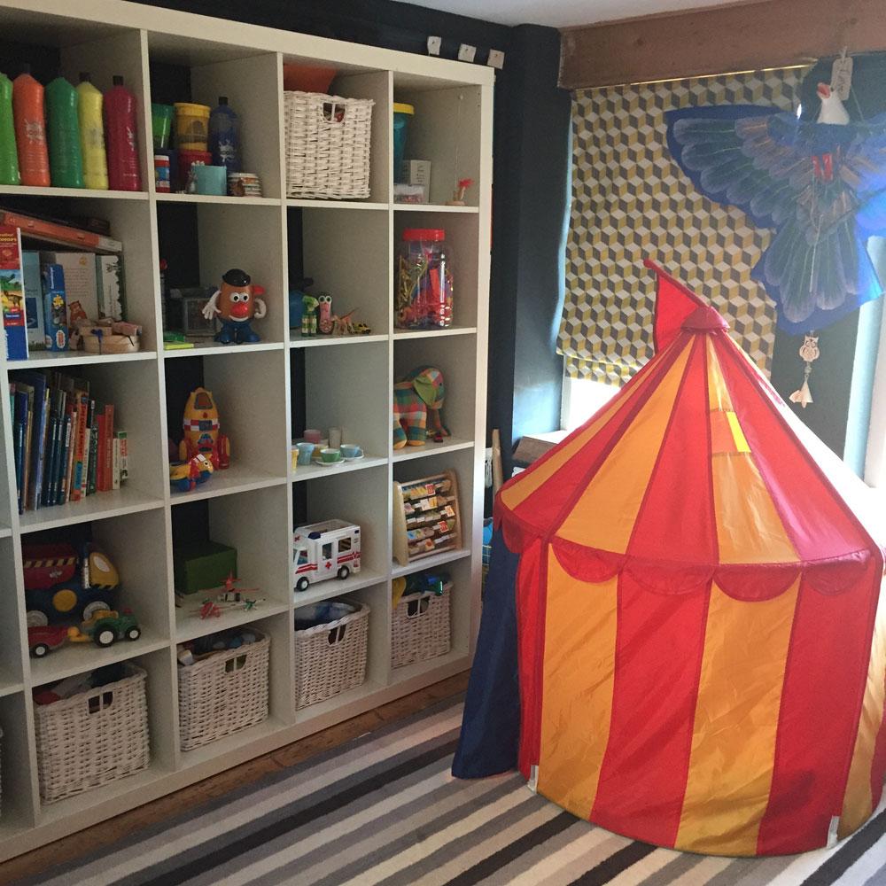 Kids bedrrom interior design by Sophie Robinson
