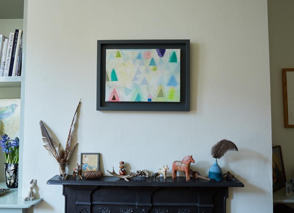 Artist Becky Blairs home