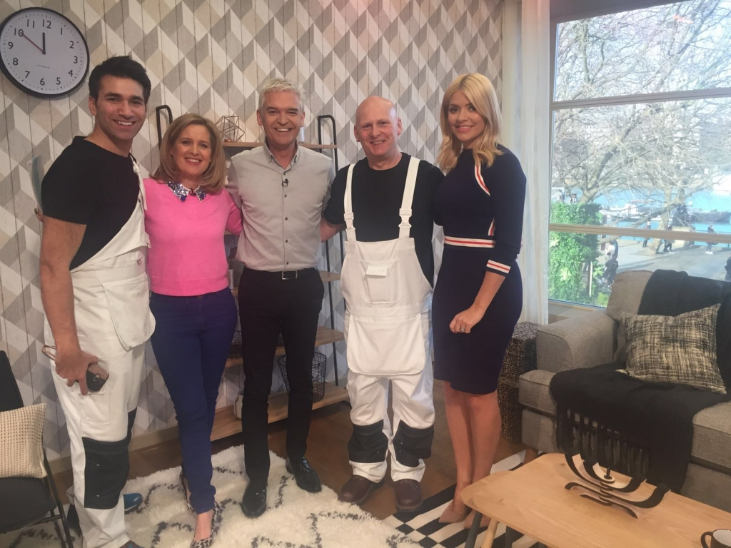 ITV this morning crew