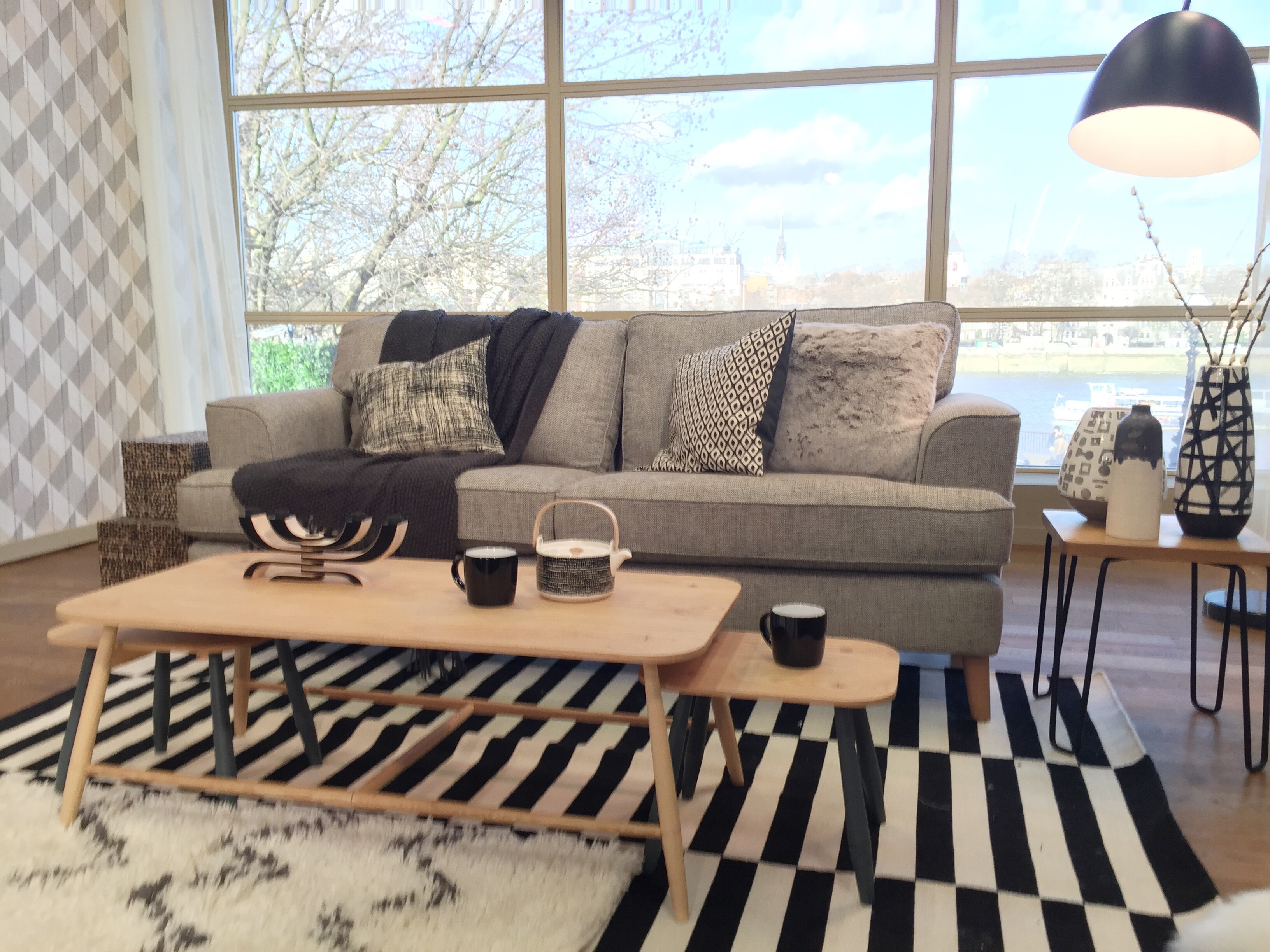 how to get a scandi look living room for interior design sophie robinson. Black Bedroom Furniture Sets. Home Design Ideas