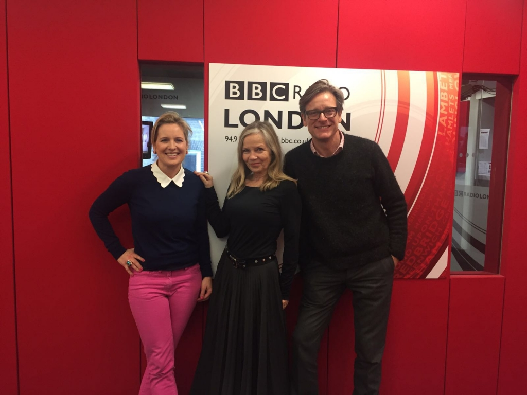 sophie robinson and daniel hopwood from the great interior design challenge on BBc Radio London