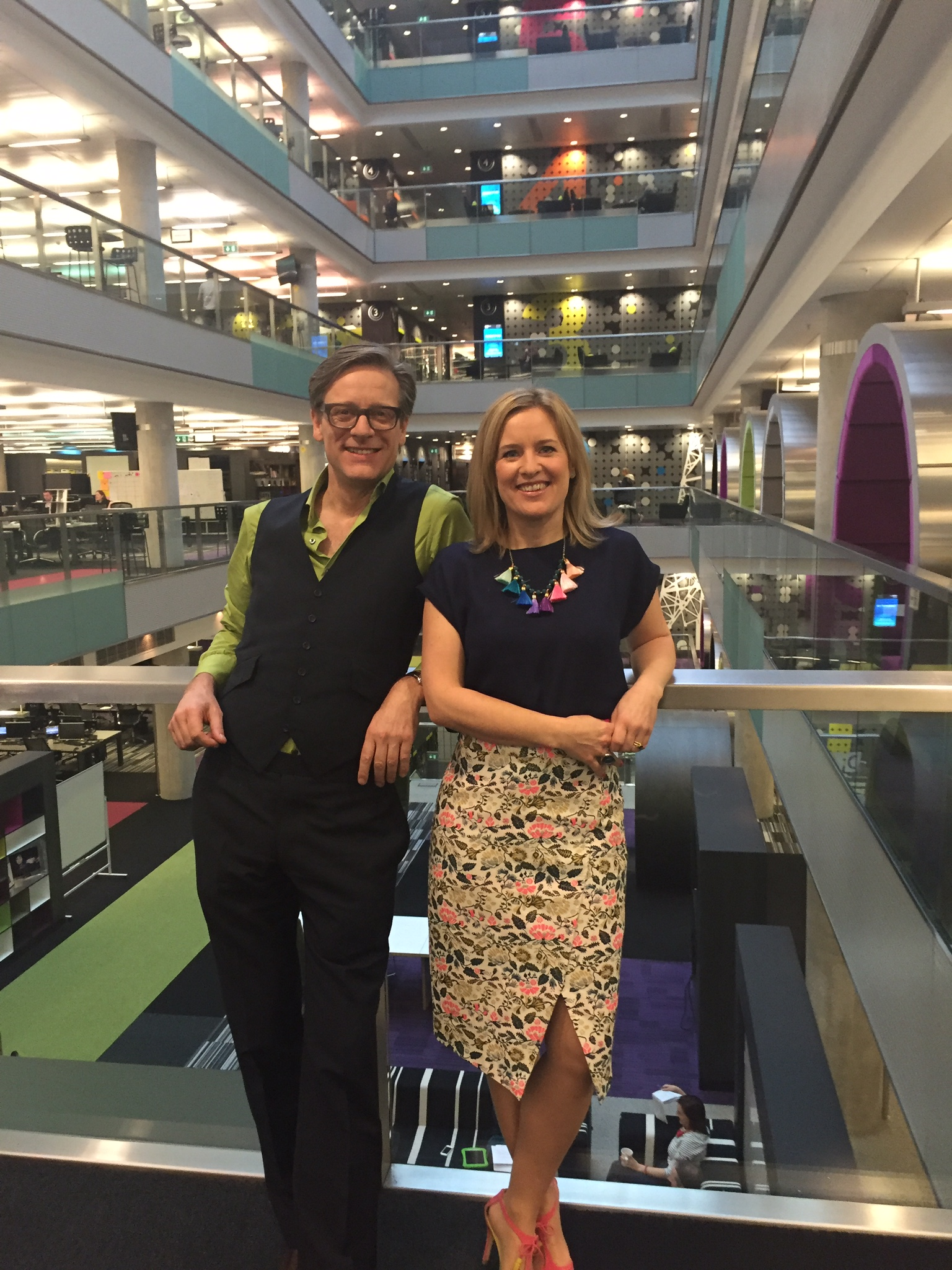 Sophie And Daniel At Bbc Breakfast Sophie Robinson