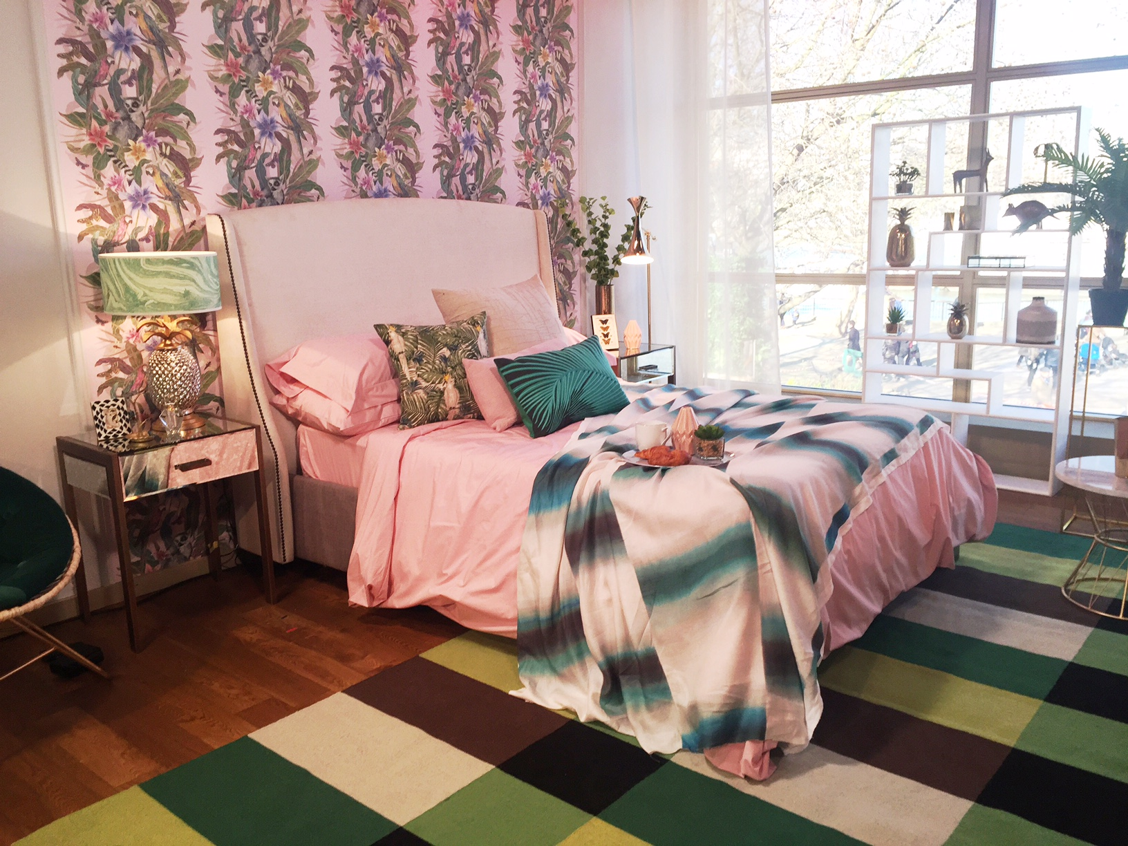 Tropical Bedroom Designed By Sophie Robinson