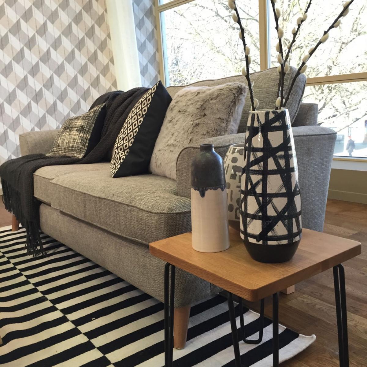 Scandinavian interior design habitat vases