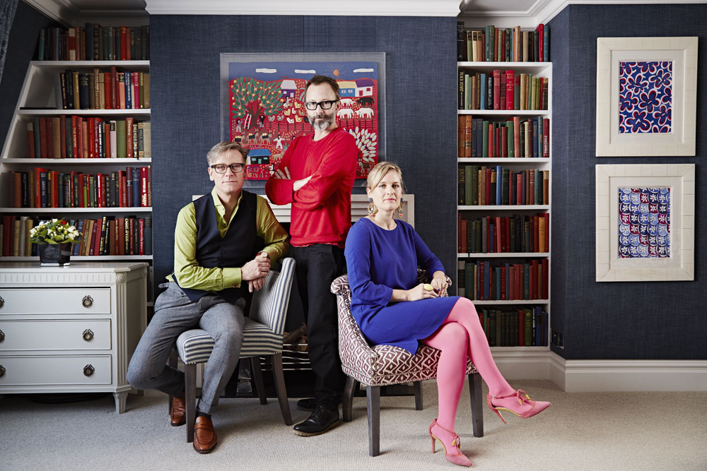 The great Interior Design Challenge presented by Tom Dyckhoff Daniel Hopwood and Sophie Robinson www.sophierobinson.co.uk