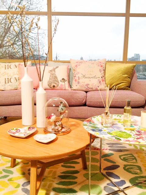 sophie robinson spring pastels living room