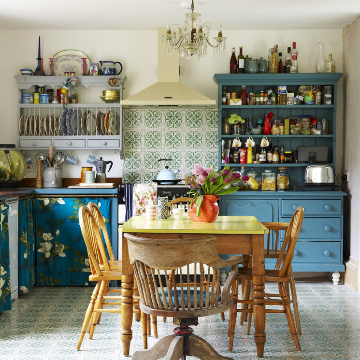 budget kitchen ideas and vintage style on a shoe string sophie - Budget Kitchen Ideas