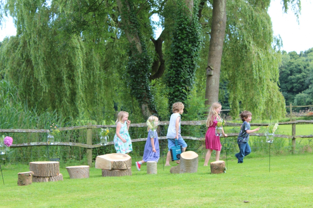 Keep kids entertained with plenty of games at a summer garden party
