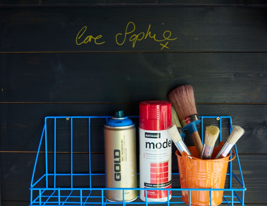 Wire shelves store essential diy and upcycling gear