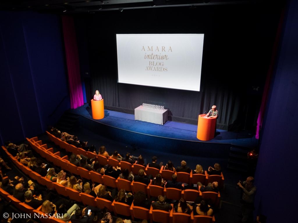 The amara interior blog awards 2016 sophie robinson for Interior design awards uk