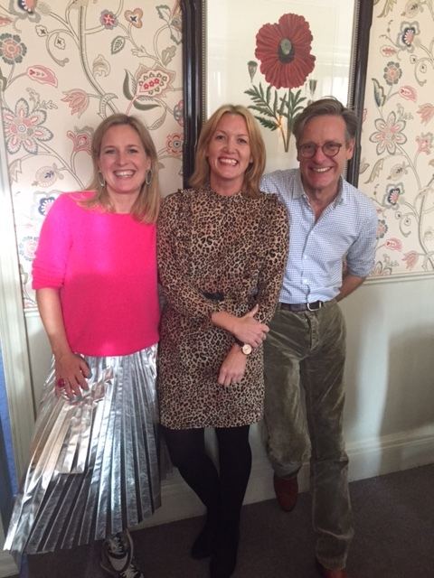 SElfie od Sophie Robinson and Daniel Hopwood from The Great Interior Design Challenge with My House Candy