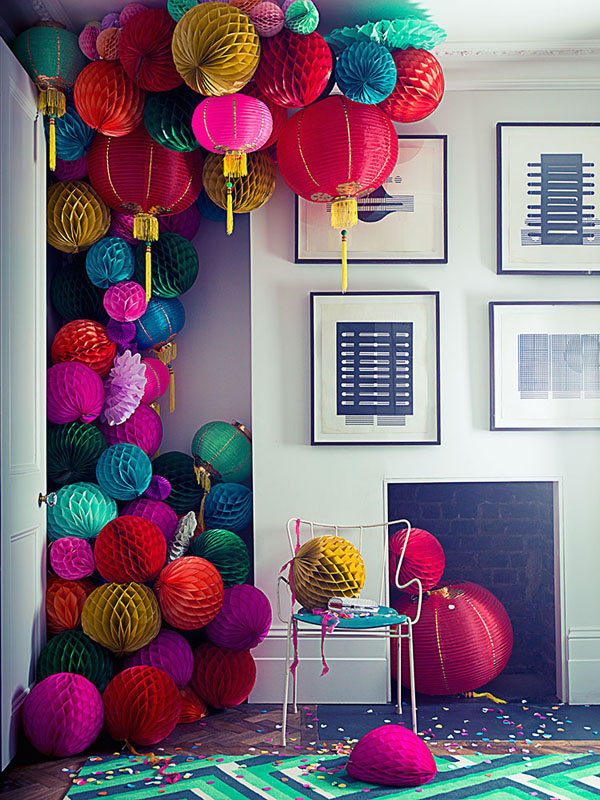 Interior stylist Amanda Koster styles this shoot for Living Etc