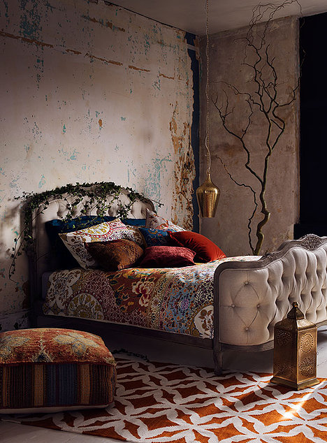 Bedroom by Lucy Gough for Marks and Spencer