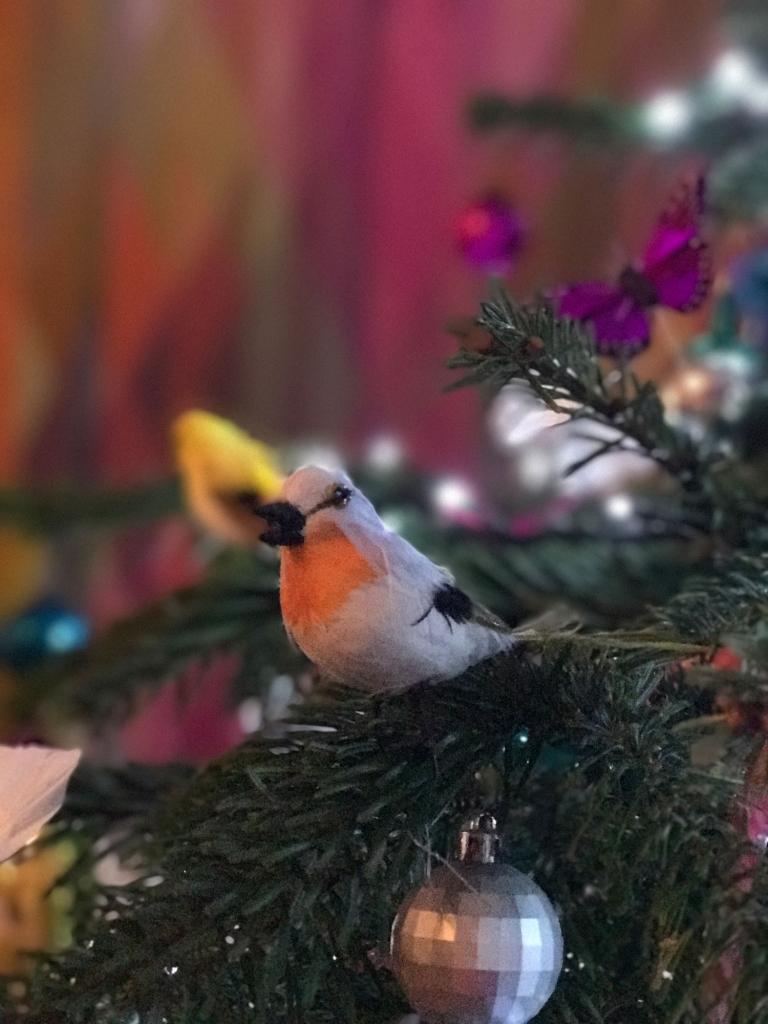 Christmas-bird-decoration