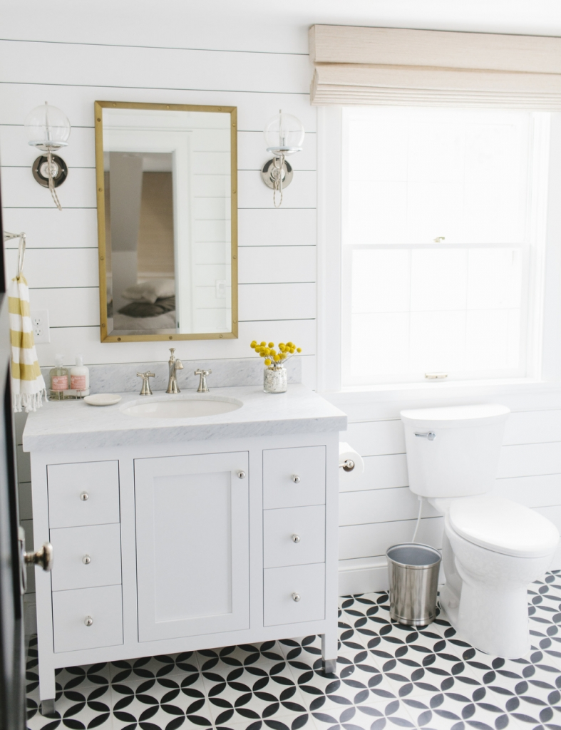 Patterned+Floors+and+Shiplap+Walls+--+Studio+McGee +sophie+Robinson