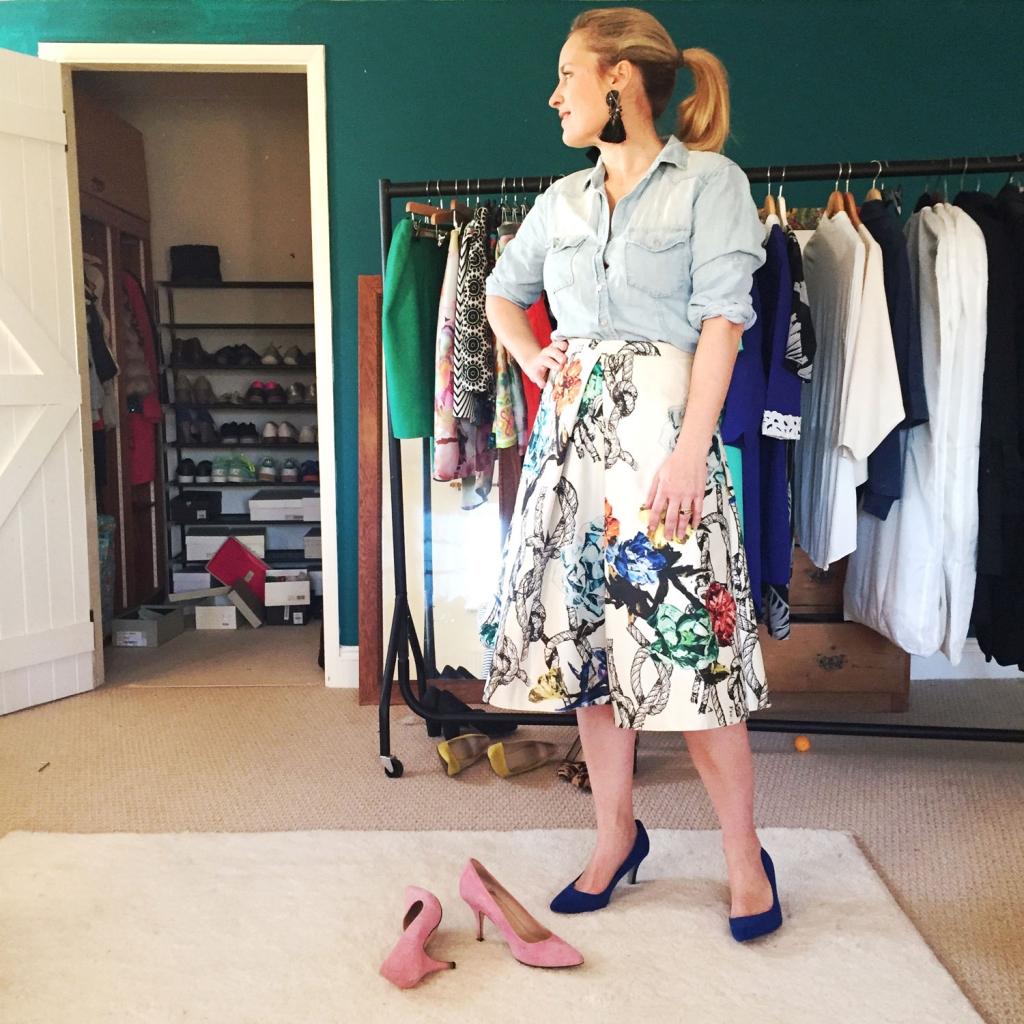 Interior Stylist Sophie Robinson shares her secrets on a well organised wardobe