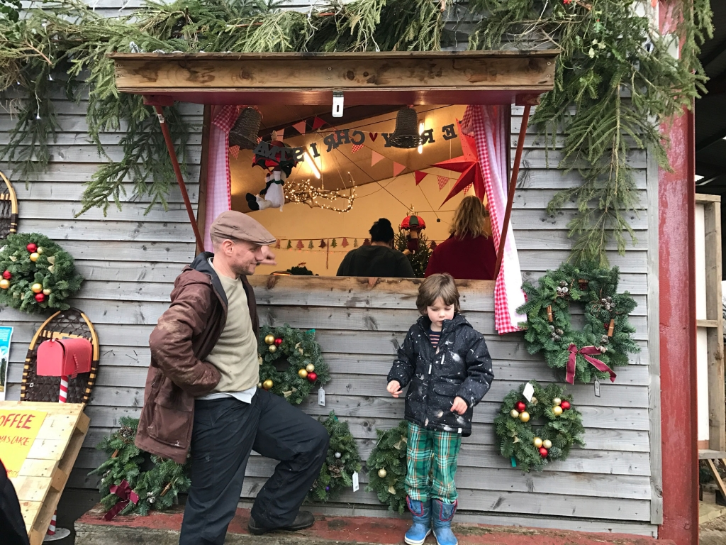Get into the CHristmas spirit at Sussex Trees, serving hot chocolate and home made cakes in their cafe