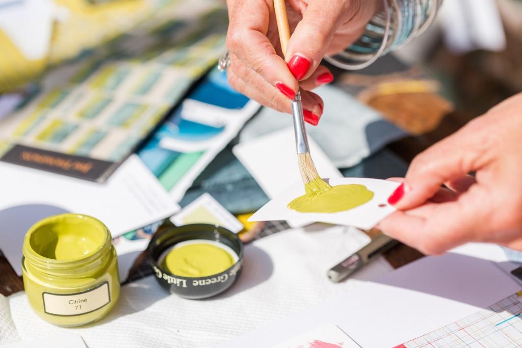 sophie robinson interior design colour workshop