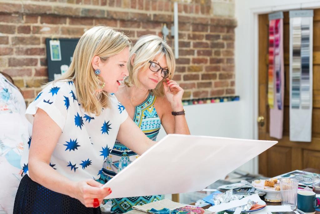 interior designer Sophie Robinson on her Colour workshop