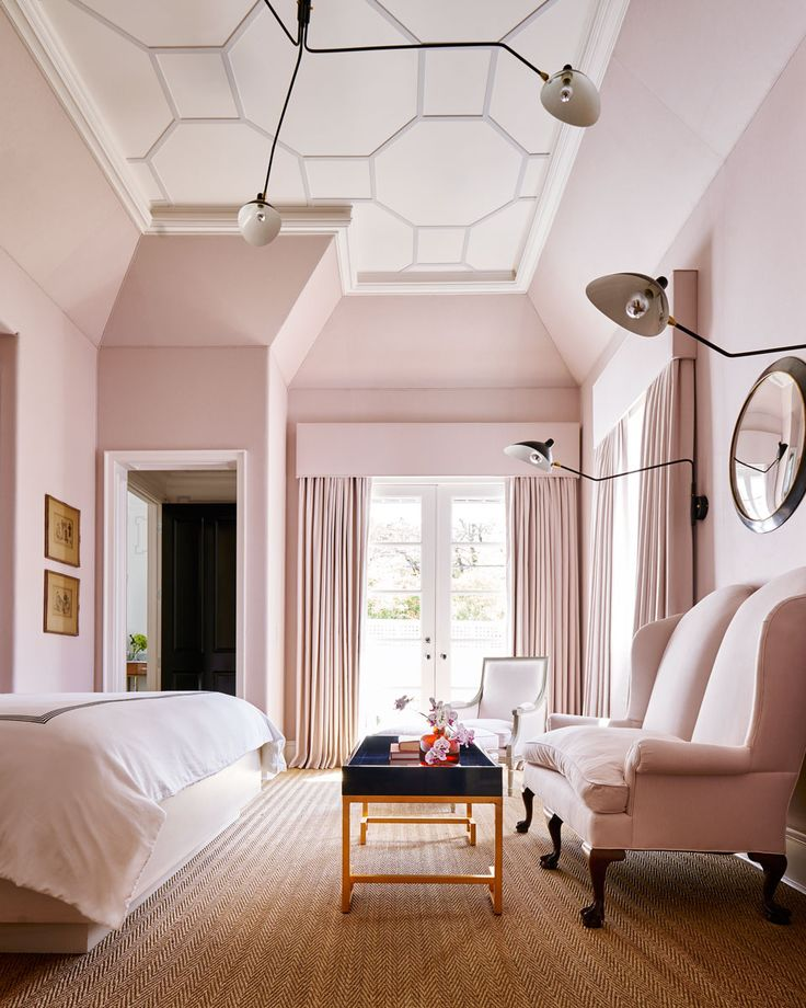 Image result for images of pale pink rooms