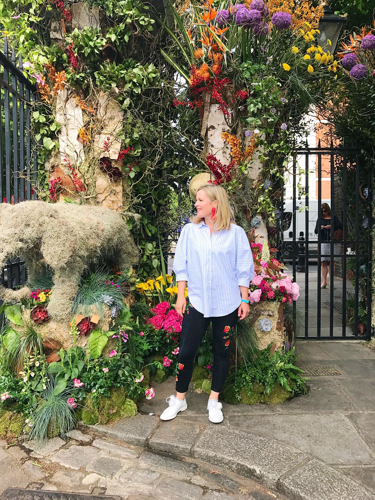 RHS Chelsea Flower show – Sophie Robinson