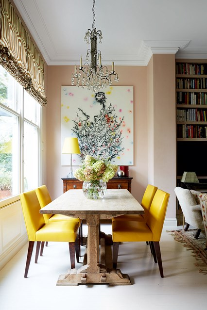 Dining Room Design Ideas Small Spaces: Colour Psychology For Interiors: The Spring Personality