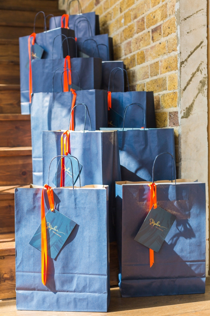 Goodie bags from Sophie Robinsons Colour event
