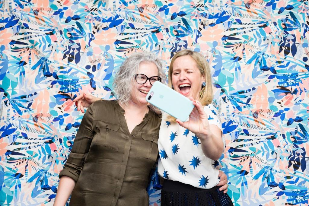 award winning blogger kate watson Smyth with interior stylist and TV presenter Sophie Robinson