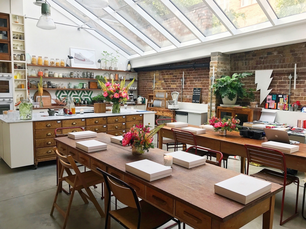 Colour psychology event for interior designers hosted in Londons papermill studios