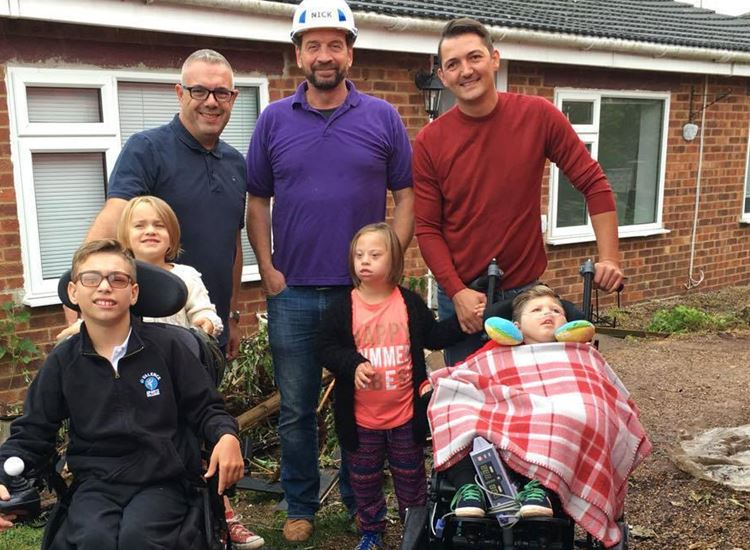 THe Ratcliffe family from DIY SOS, Isle of Sheppey