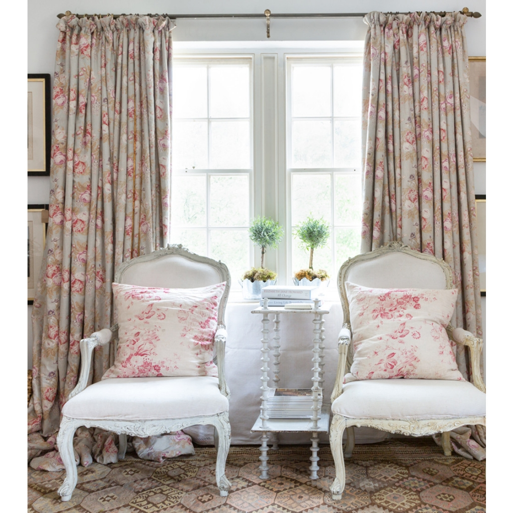 Faded florals is a key look to the summer personailty. This faded rose print is from Cabbages and roses