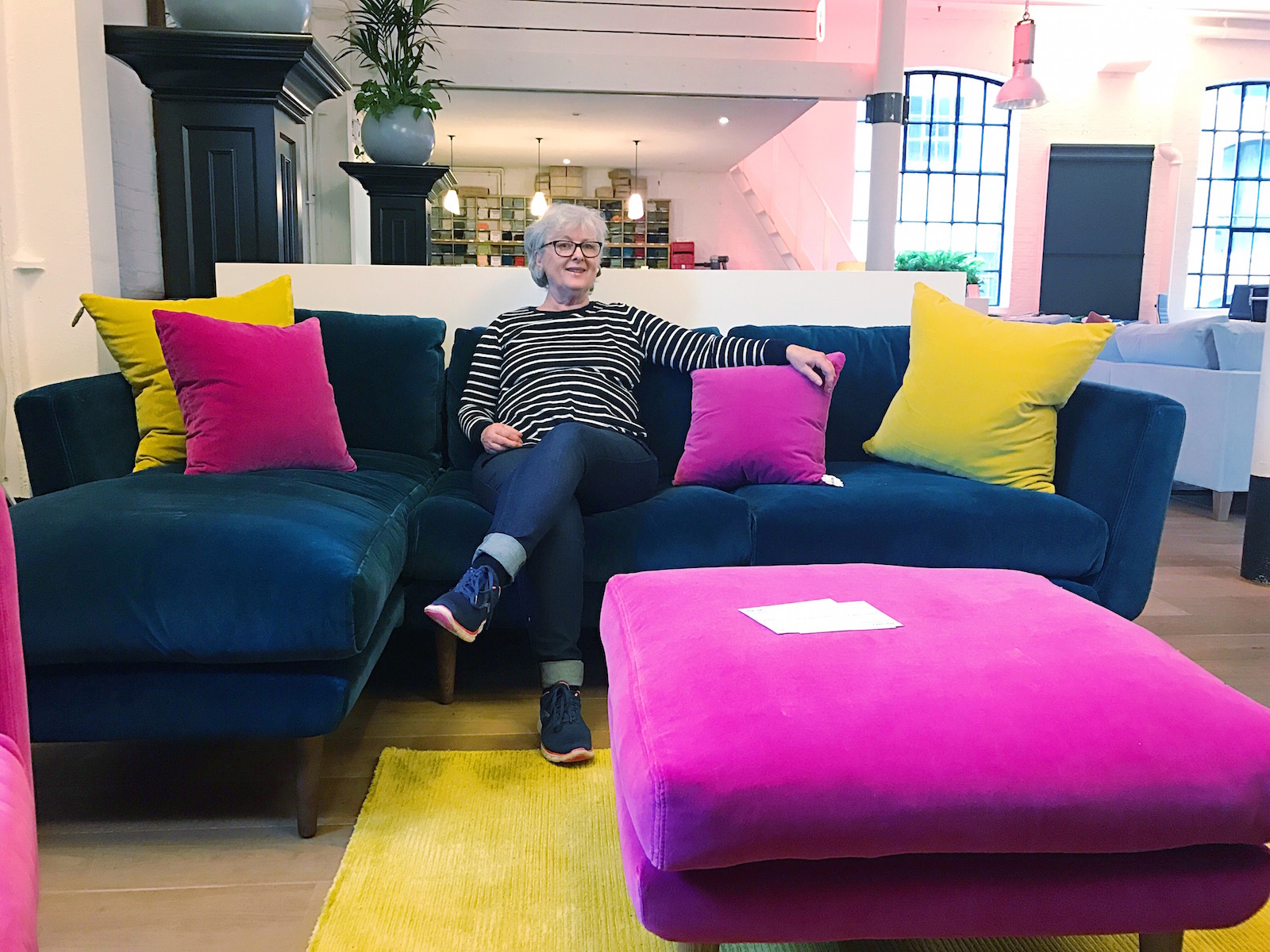 Beau When Buying A New Sofa Itu0027s Essential That You Try Before You Buy. Hereu0027s  Mum Road Testing In The Sofa.com Chelsea Showroom