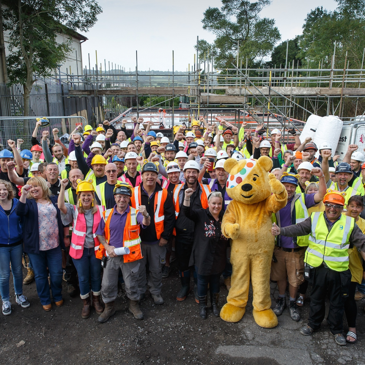 DIY SOS The Million Pound Build for Children in Need for The Roots Foundation in Swansea