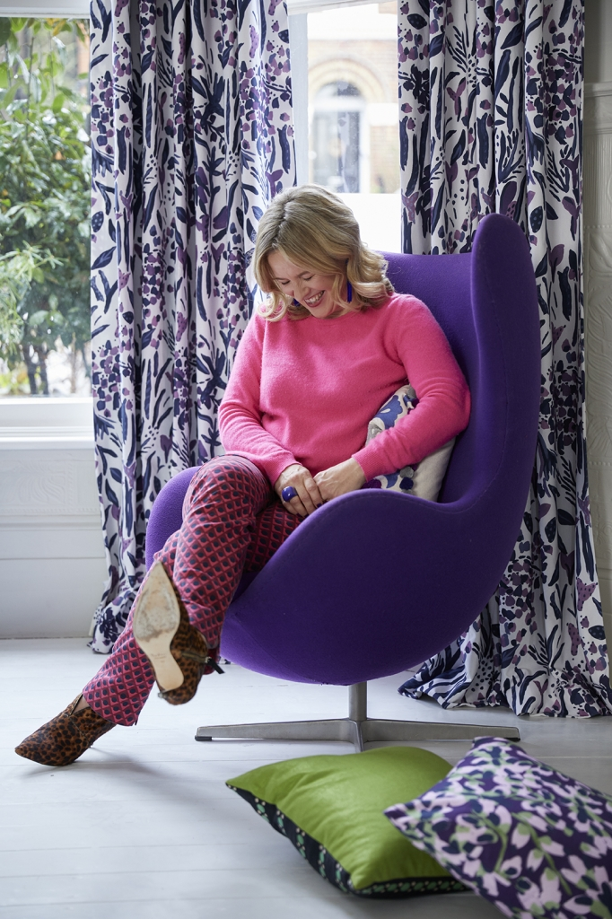 pantone colour of the year ultra violet styled by interior designer sophie robinson