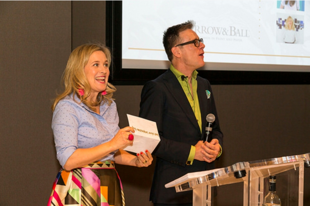 interior designers sophie robinson and daniel hopwood hosting the amara interior blog awards